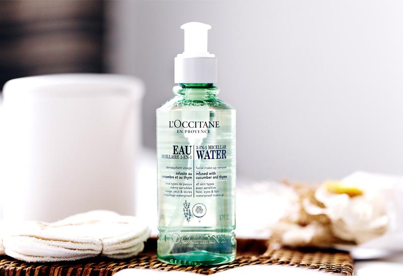 Tẩy Trang L'OCCITANE Dạng Nước 3 Trong 1 Cleansing Infusions 3-In-1 Micellar Water Facial Make-Up Remover 200ml dạng nước