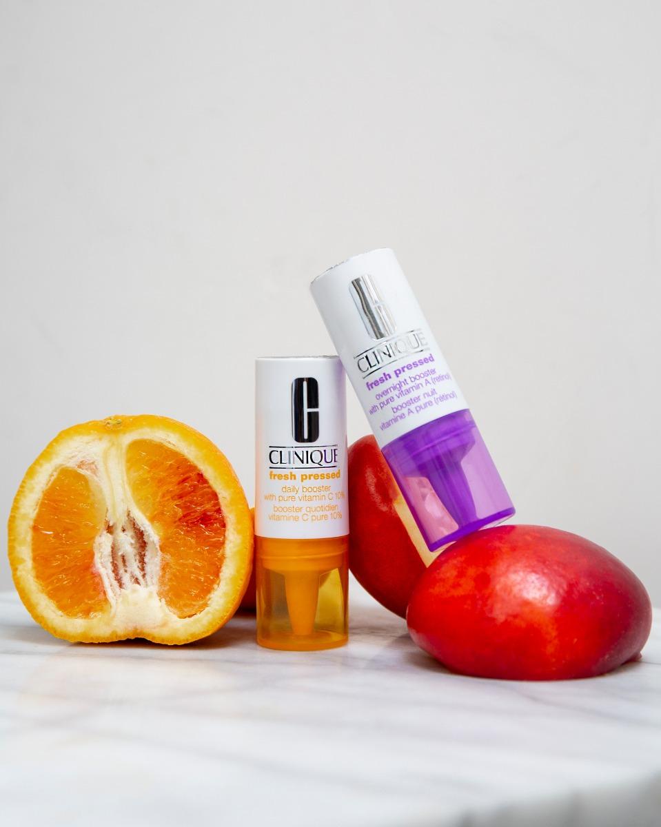Tinh Chất Clinique Vitamin C Tươi Nguyên Chất + Vitamin A (Retinol) Fresh Pressed Daily Booster + Overnight Booster dễ sử dụng