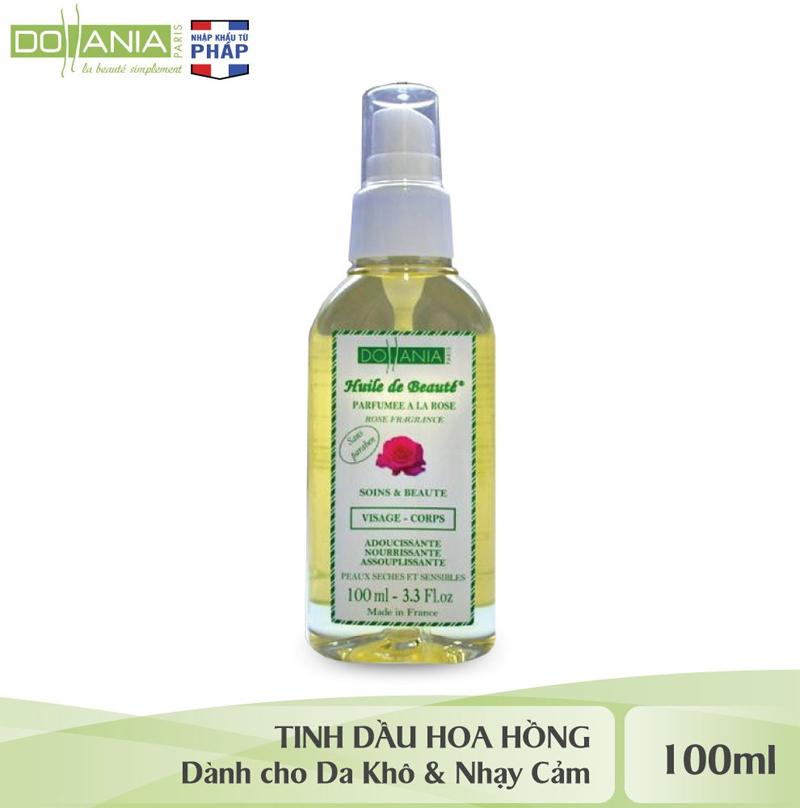 Tinh Dầu Hoa Hồng DOLLANIA Dưỡng Mặt Và Toàn Thân Rose Fragrance