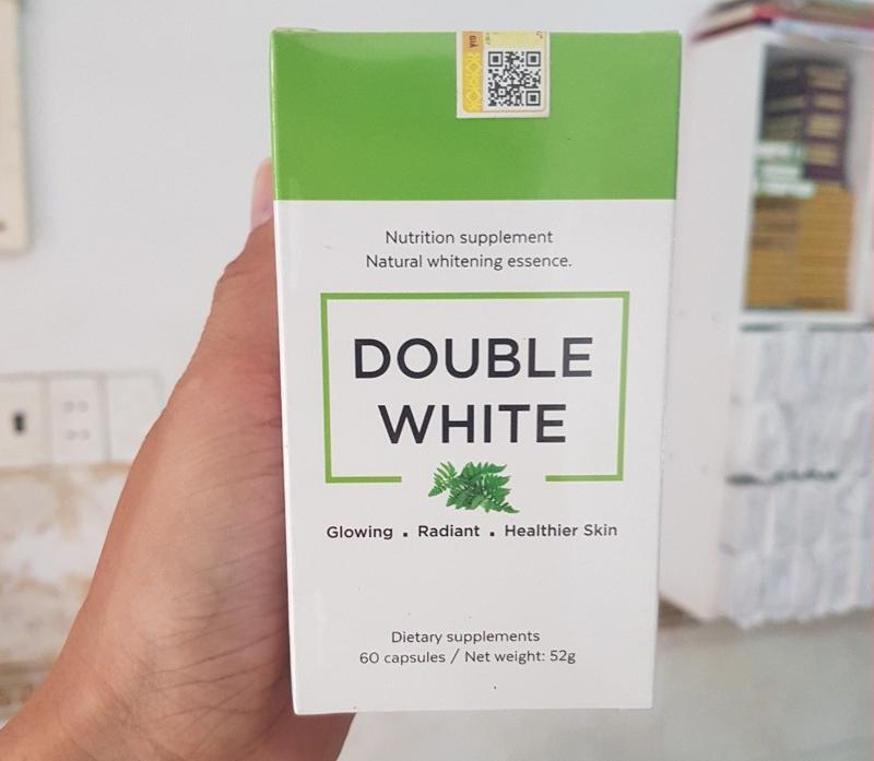 Viên Uống Sáng Da Chống Nắng DOUBLE WHITE 60 Viên