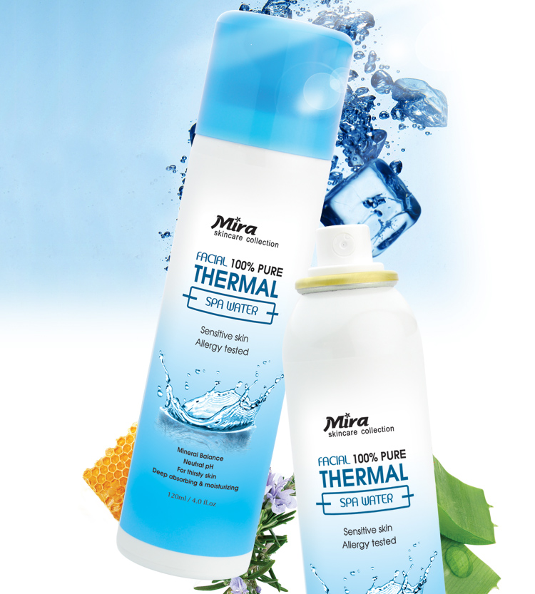 Xịt Khoáng Mira Thermal Spa Water cho mọi làn da