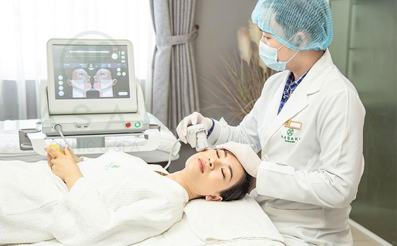Công nghệ nâng cơ xóa nhăn không xâm lấn ultherapy
