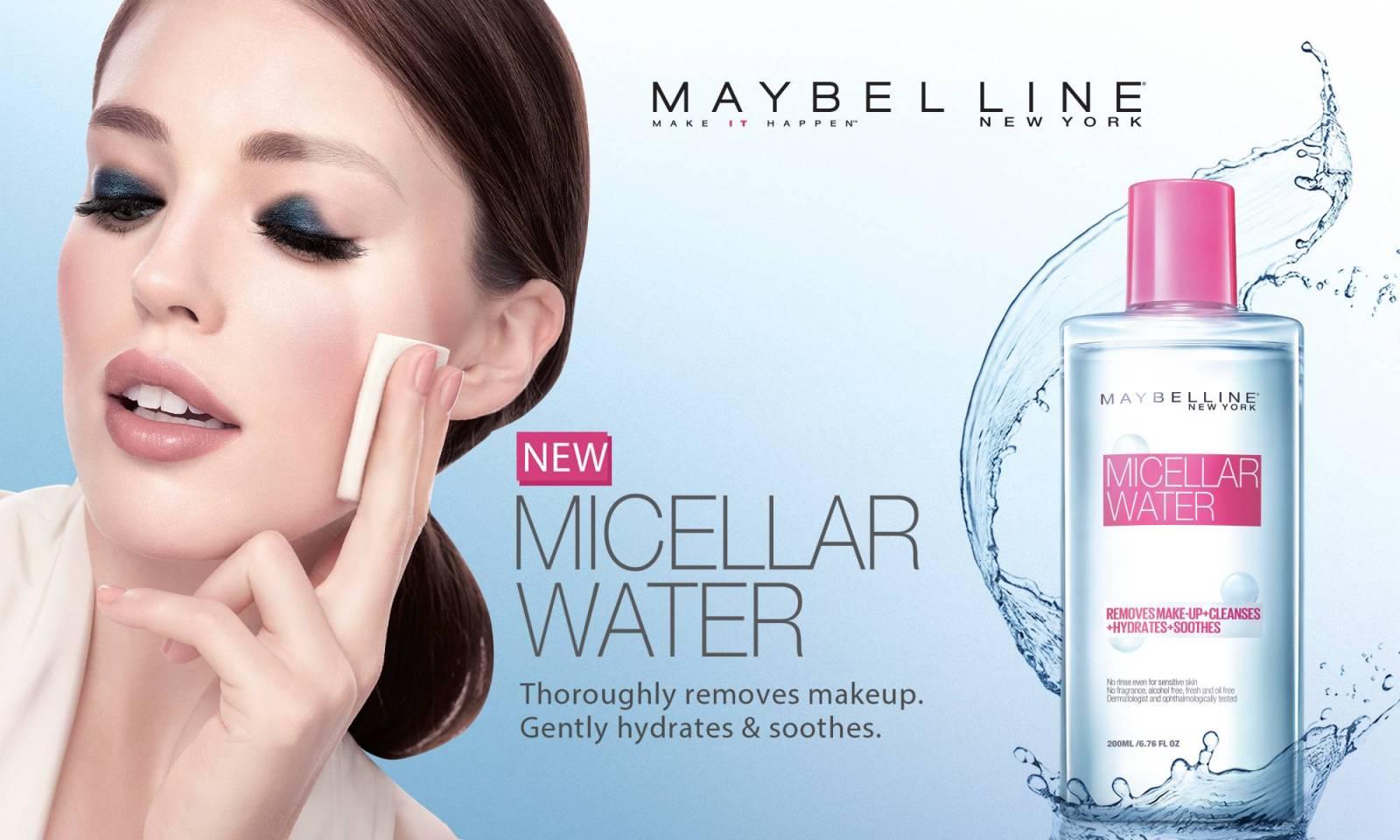 Kết quả hình ảnh cho Maybelline Micellar Water
