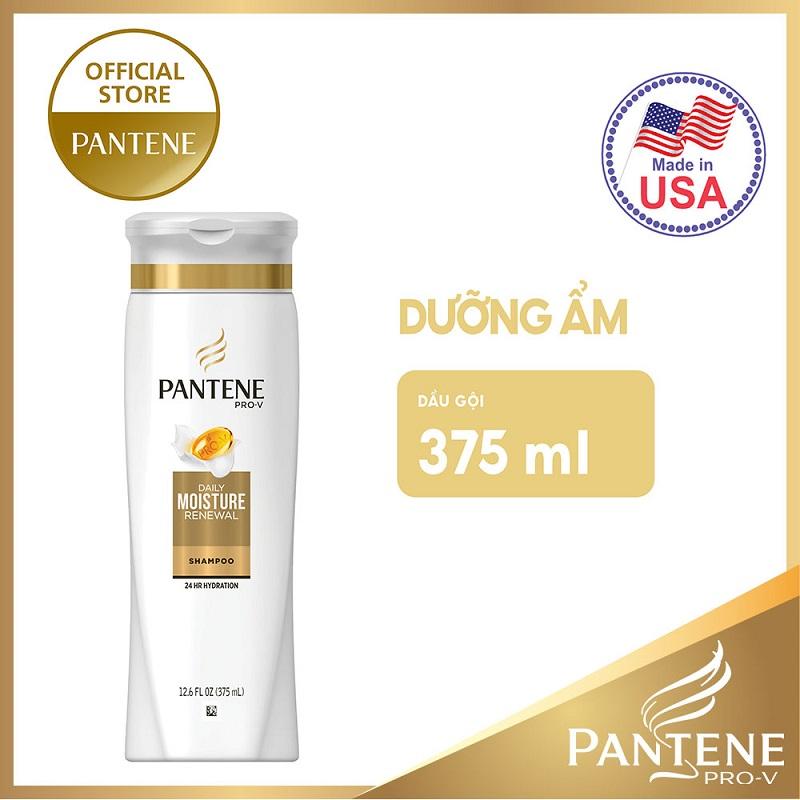 Dầu gội Pantene Moisture Renewal dưỡng ẩm tóc 375ml - 01