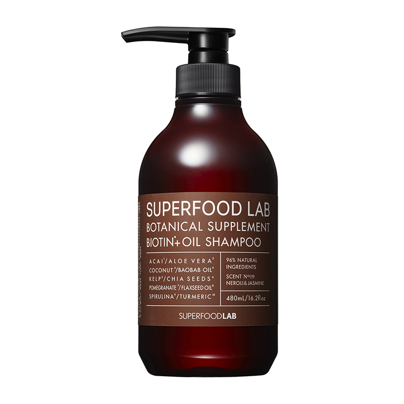 Dầu gội Superfood Lab Botanical Supplement Biotin+Oil Shampoo - 1
