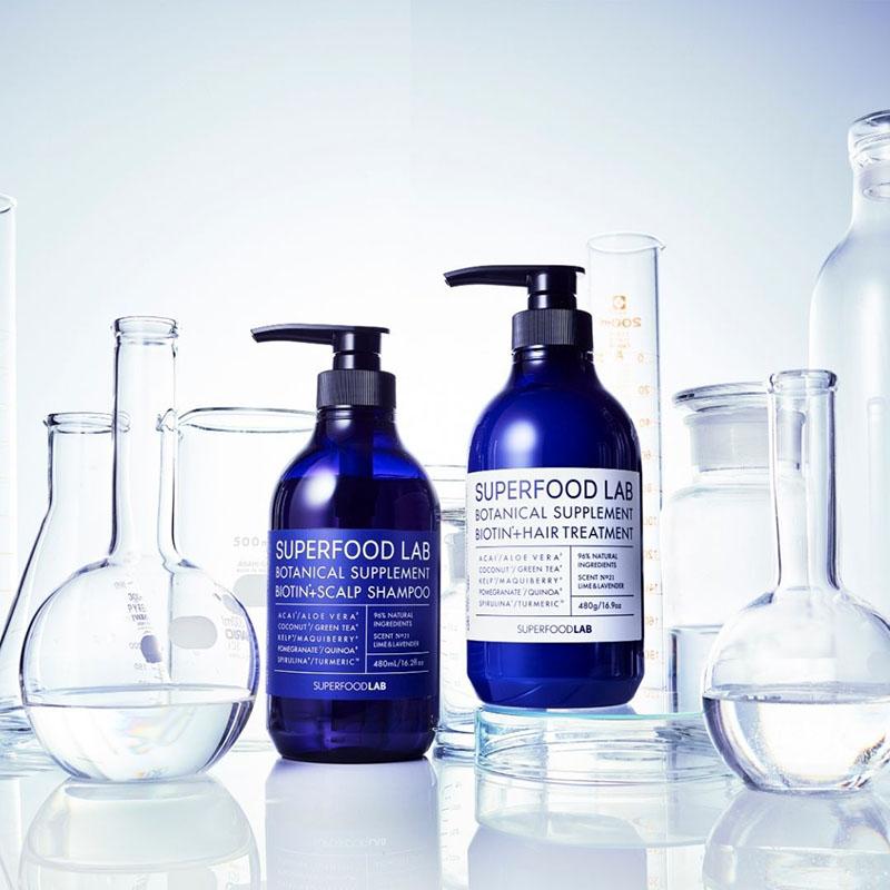 Dầu xả Superfood Lab Botanical Supplement Biotin+Hair Treatment chăm sóc da đầu cho tóc dầu - 1