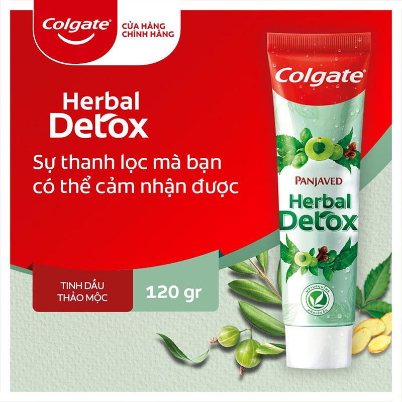 Kem Đánh Răng Colgate Herbal Detox Thảo Mộc Tự Nhiên Cao Cấp 120g - 1