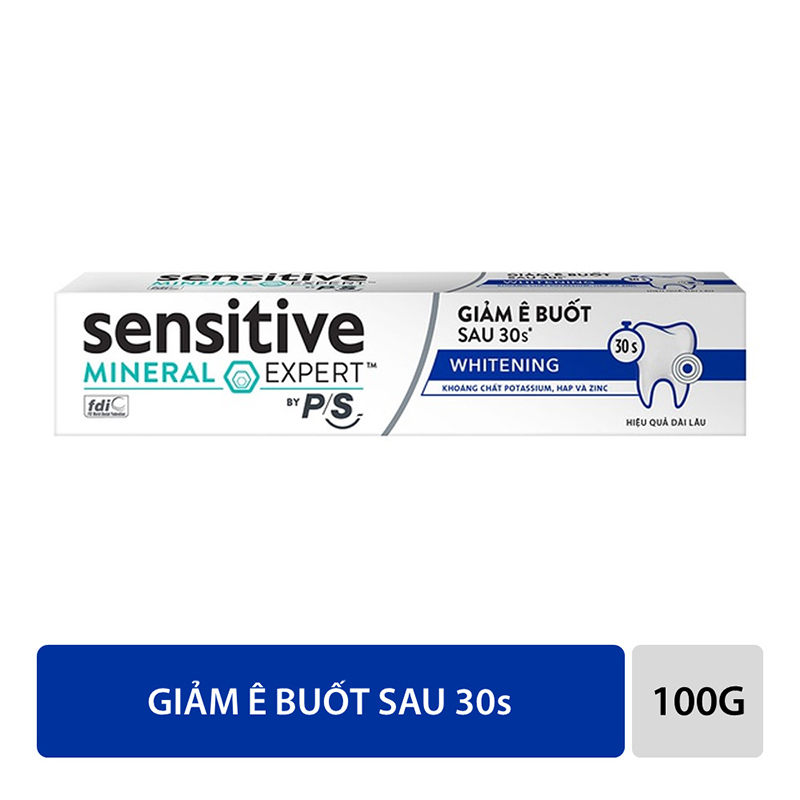 Kem Đánh Răng Sensitive Expert By P/S Whitening 100g 02
