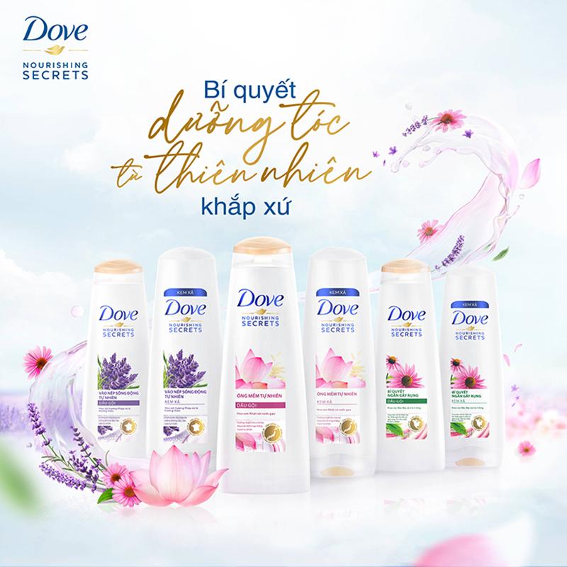 Kem xả Dove thiên nhiên - 02
