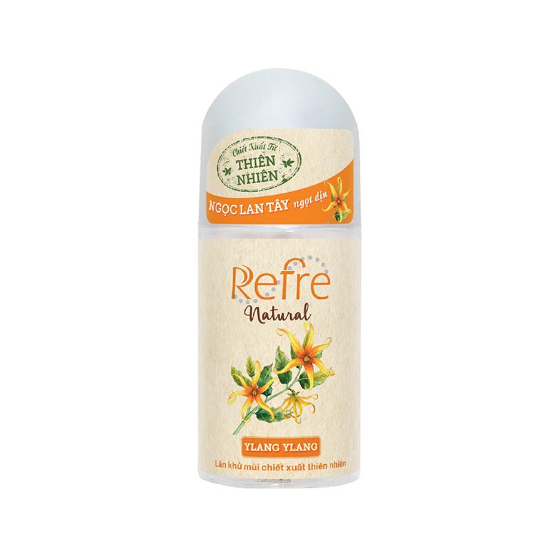 lăn khử mùi Refre Natural 02