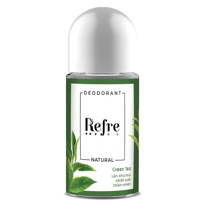 lăn khử mùi Refre Natural 03