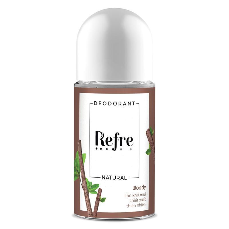 lăn khử mùi Refre Natural 07