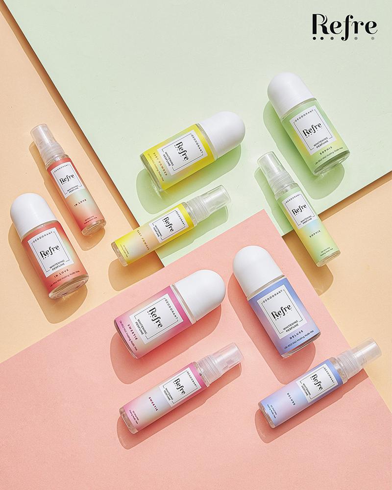 Lăn Khử Mùi Refre Whitening 2