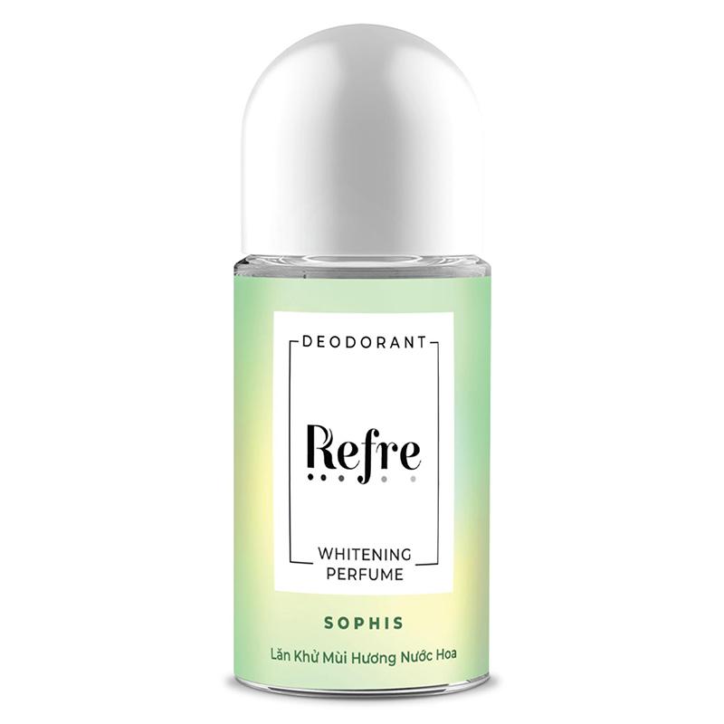 Lăn Khử Mùi Refre Whitening 3