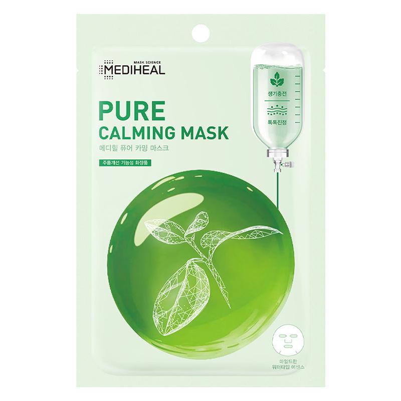 Mặt nạ Mediheal Pure Calming Mask làmdịu da, se khít lỗ chân lông