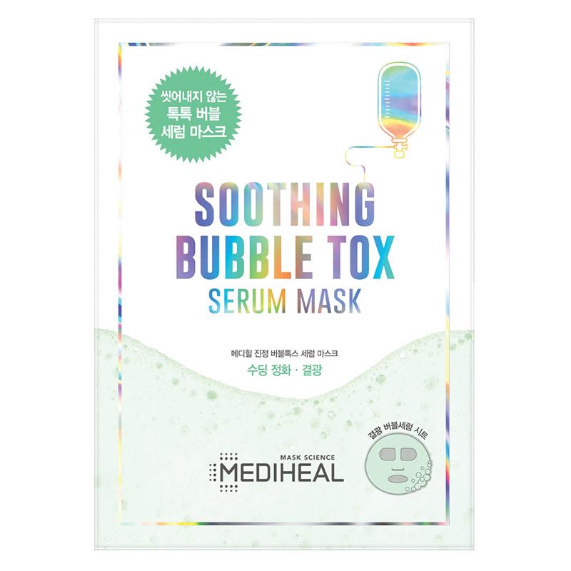 Mặt nạ Mediheal Soothing Bubble Tox Serum Mask cấp ẩm, làm dịu da