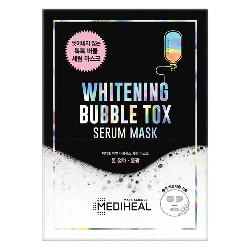 Mặt nạ Mediheal Mediheal Whitening Bubble Tox Serum Mask làm sáng da