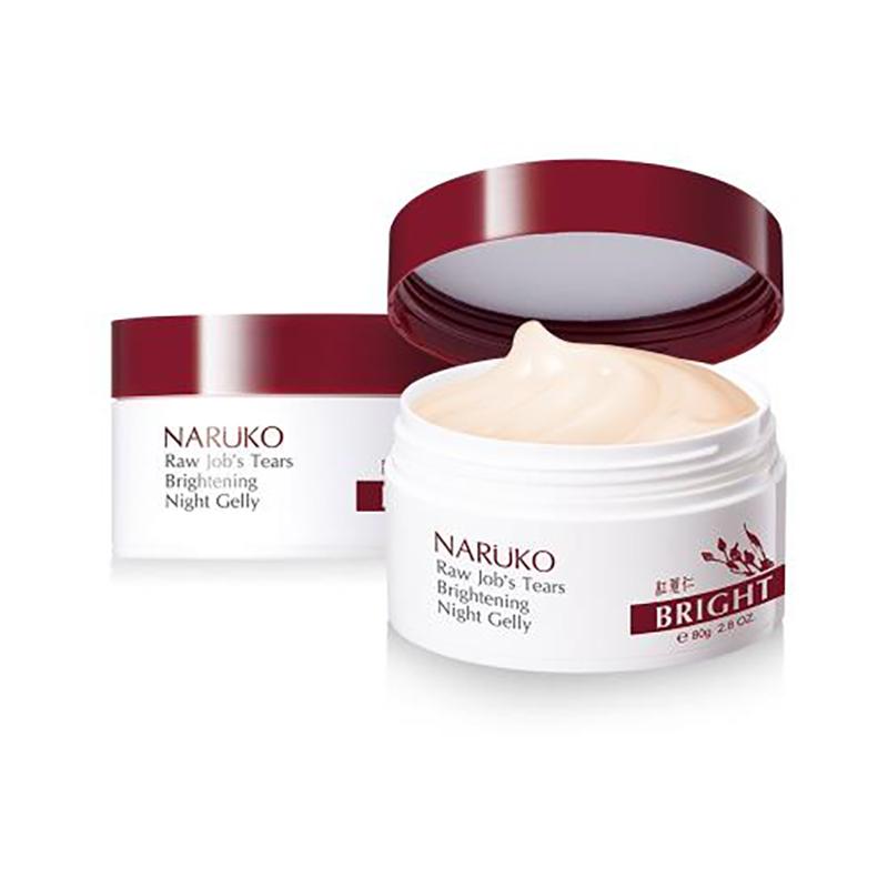Mặt nạ ngủ Naruko ý dĩ nhân đỏ làm sáng mịn da mới 80g - 1