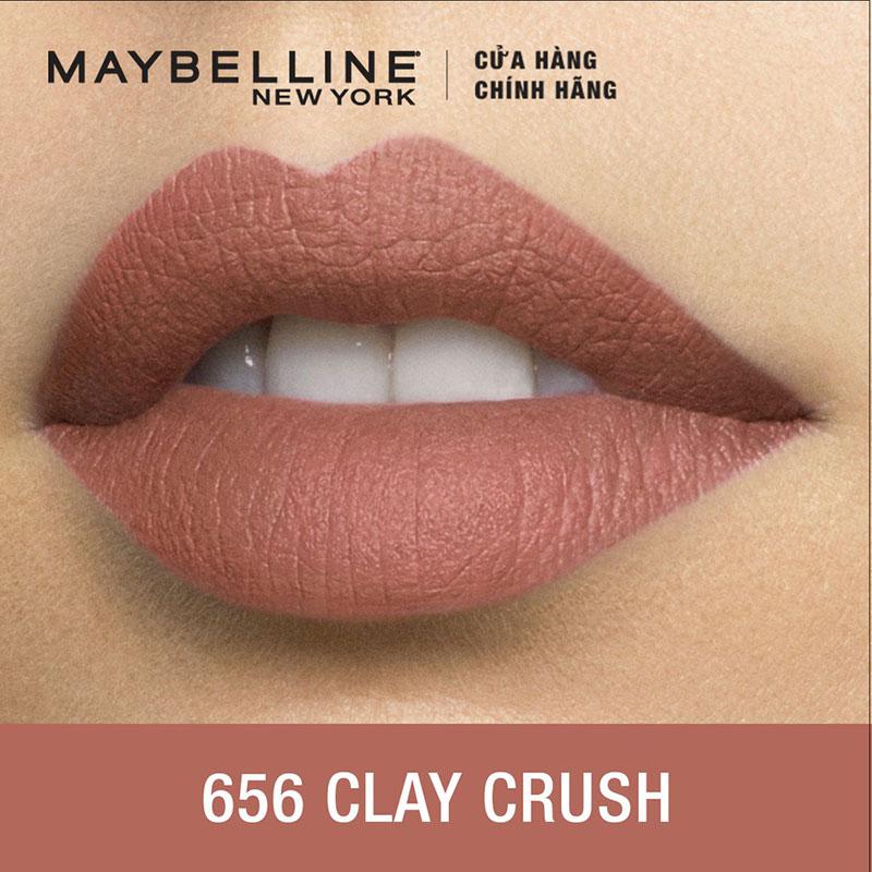 Son Lì Mềm Môi Maybelline Mini Color Sensational Creamy Matte Lipstick #656 - 2