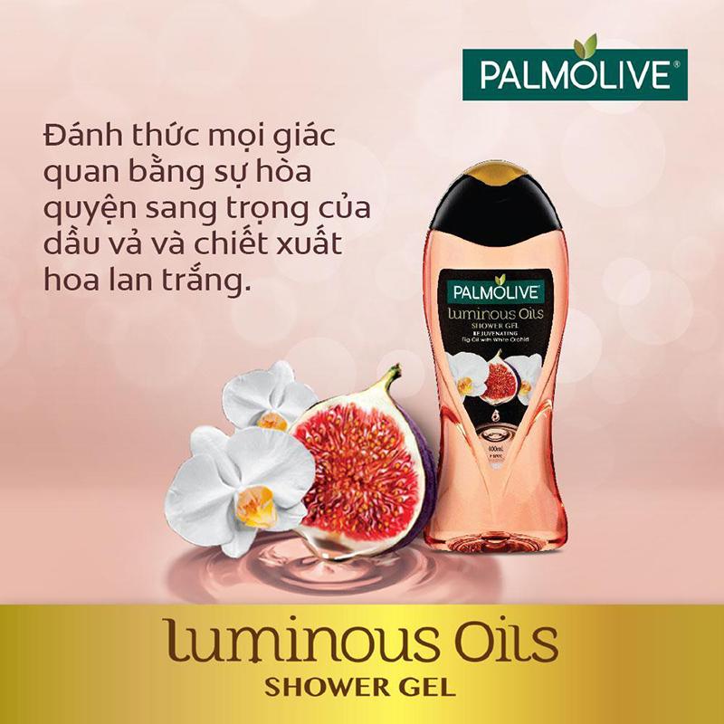 Sữa Tắm Palmolive Tinh Dầu Dưỡng Ẩm 02
