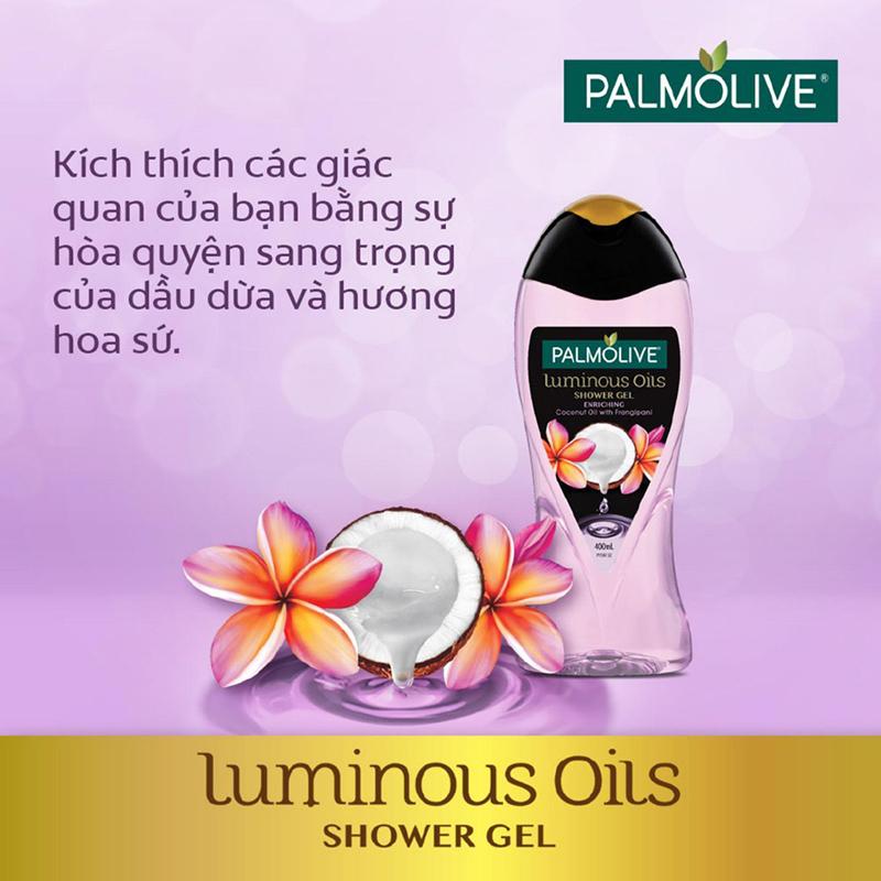 Sữa Tắm Palmolive Tinh Dầu Dưỡng Ẩm 04