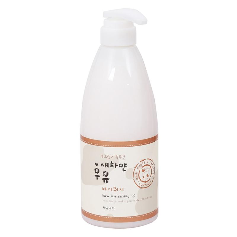 Sữa tắm sáng da Welcos White Milk Body Wash 740g - 1