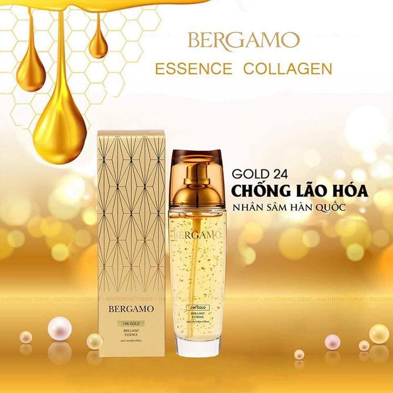 Tinh chất dưỡng da Bergamo chiết xuất vàng 24K 110ml - 1