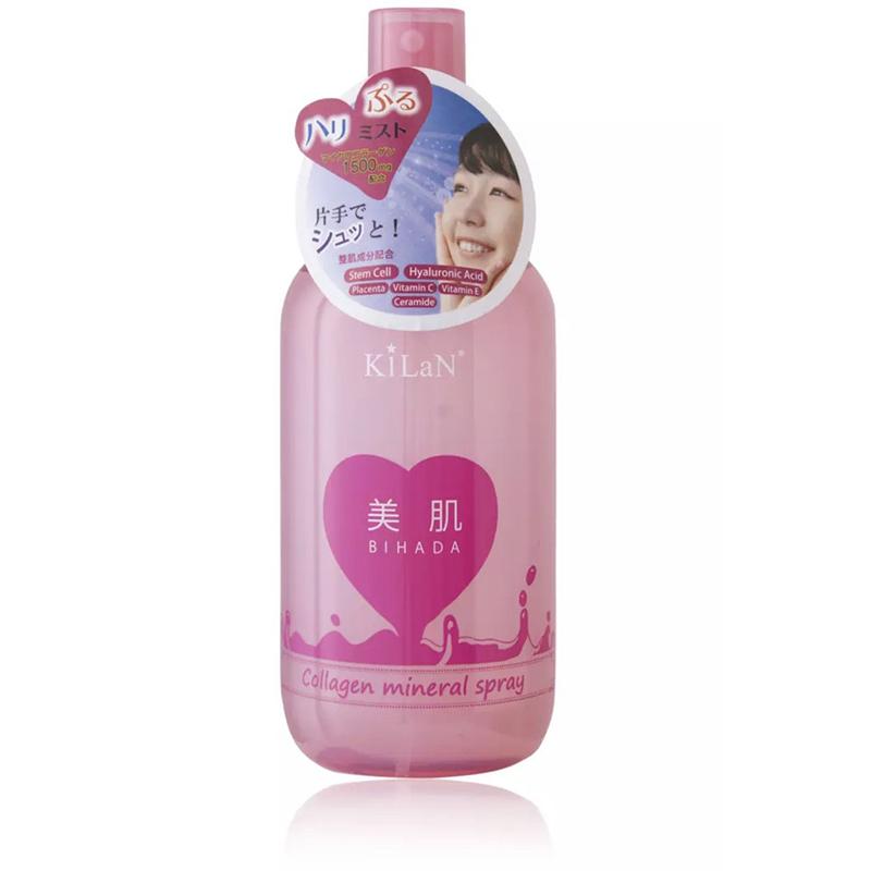 Xịt khoáng Kilan Collagen Mineral Spray cung cấp nước, bổ sung Collagen 250ml - 01