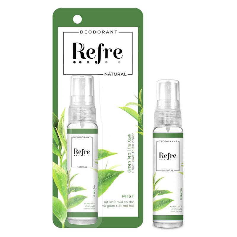Xịt khử mùi Refre Natural 03