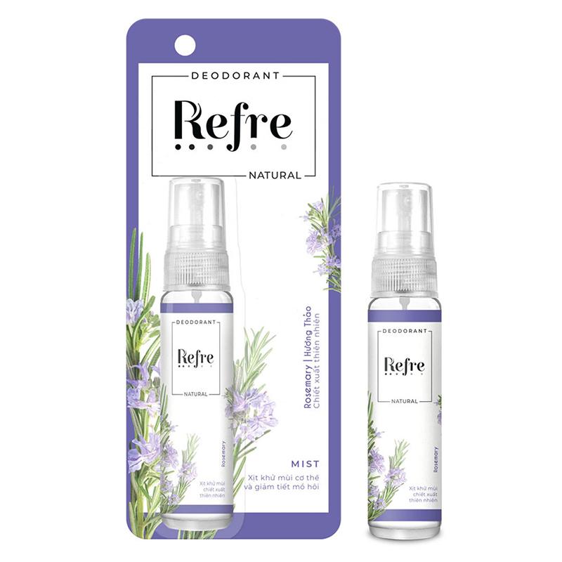 Xịt khử mùi Refre Natural 05