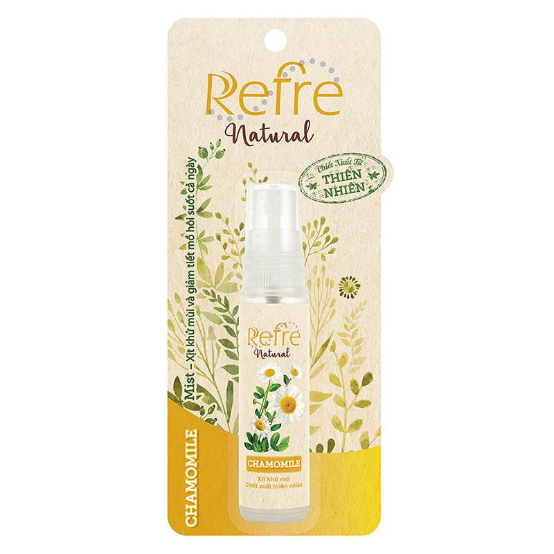 Xịt khử mùi Refre Natural 06