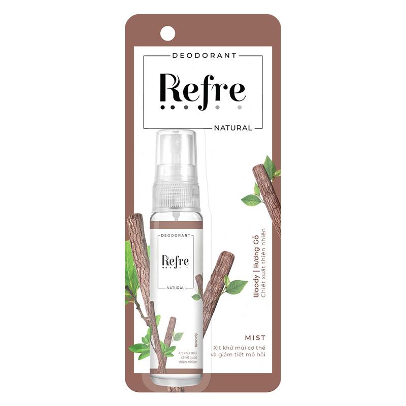 Xịt khử mùi Refre Natural 08