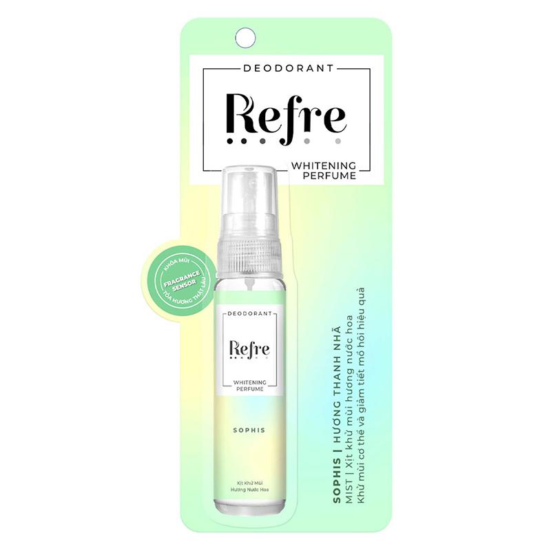 Xịt Khử Mùi Refre Whitening 3