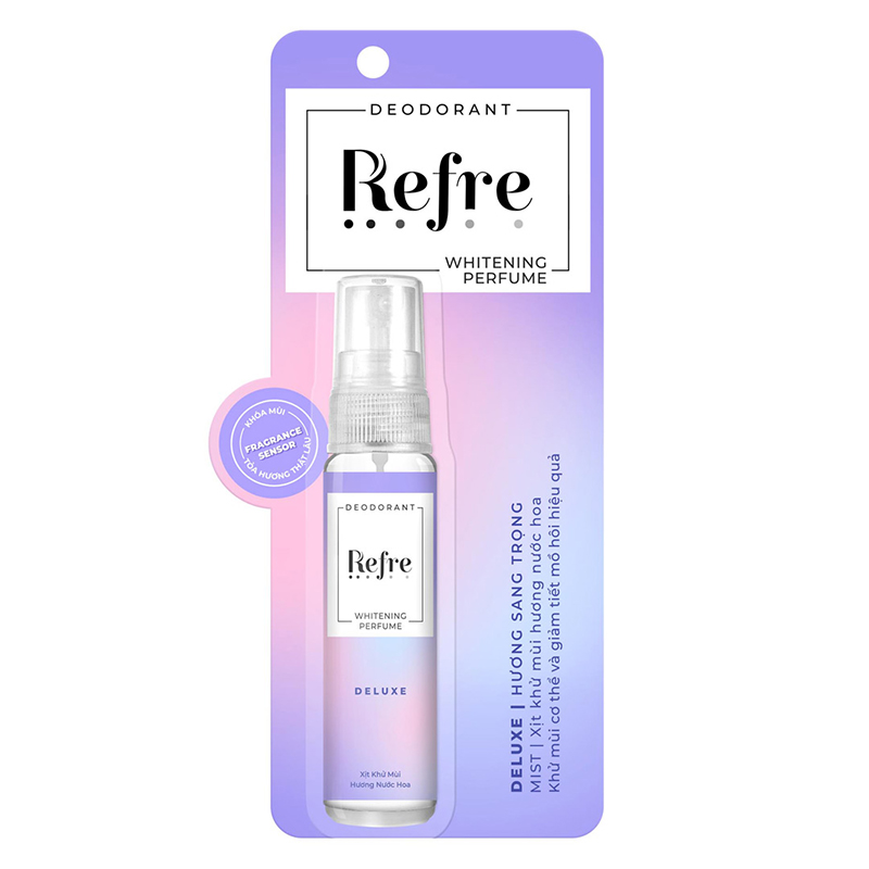 Xịt Khử Mùi Refre Whitening 6