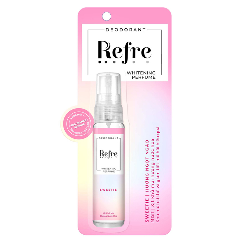 Xịt Khử Mùi Refre Whitening 5