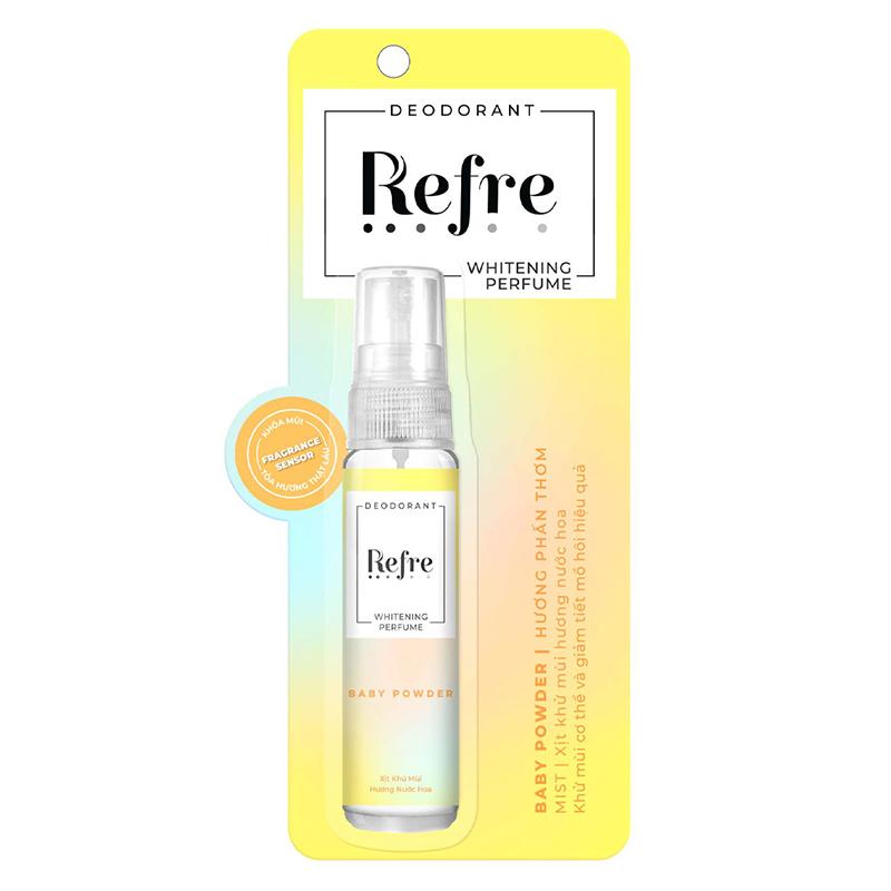Xịt Khử Mùi Refre Whitening 7