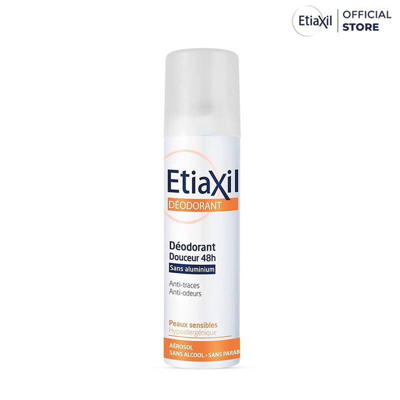 Xịt Khử Mùi EtiaXil Deodorant Douceur 48h Aérosol 150ml - 1