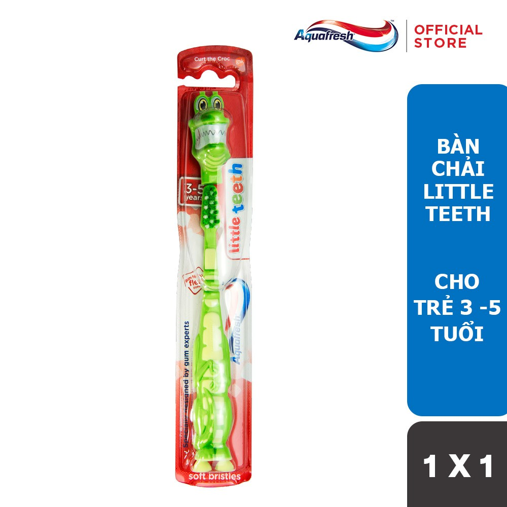 Bàn Chải Đánh Răng Aquafresh Little Teeth Cho Trẻ Từ 3-5 Tuổi