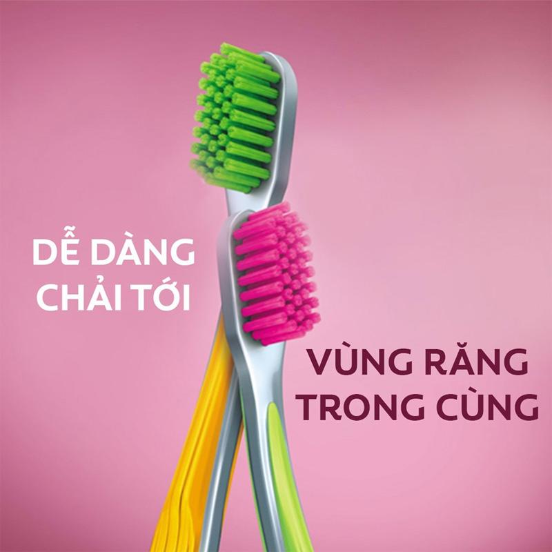 Bàn Chải Đánh Răng Colgate Ultra Soft Siêu Mềm Màu Vàng Hasaki