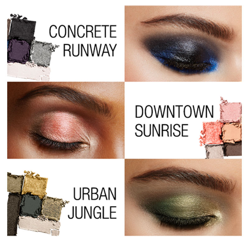 Bảng Phấn Mắt Maybelline The City Mini Palette Hasaki