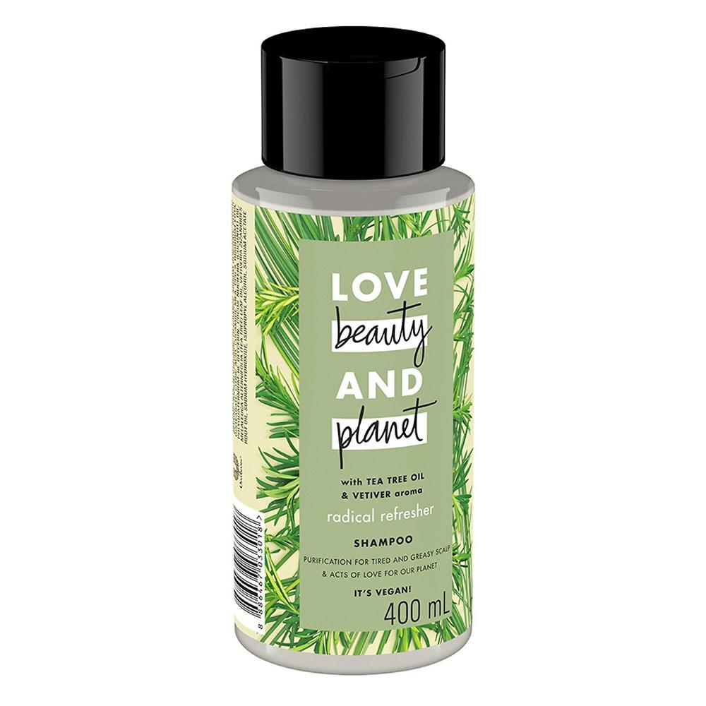 Dầu Gội Love Beauty And Planet Detox Tóc Dầu Bết Radical Refresher Shampoo