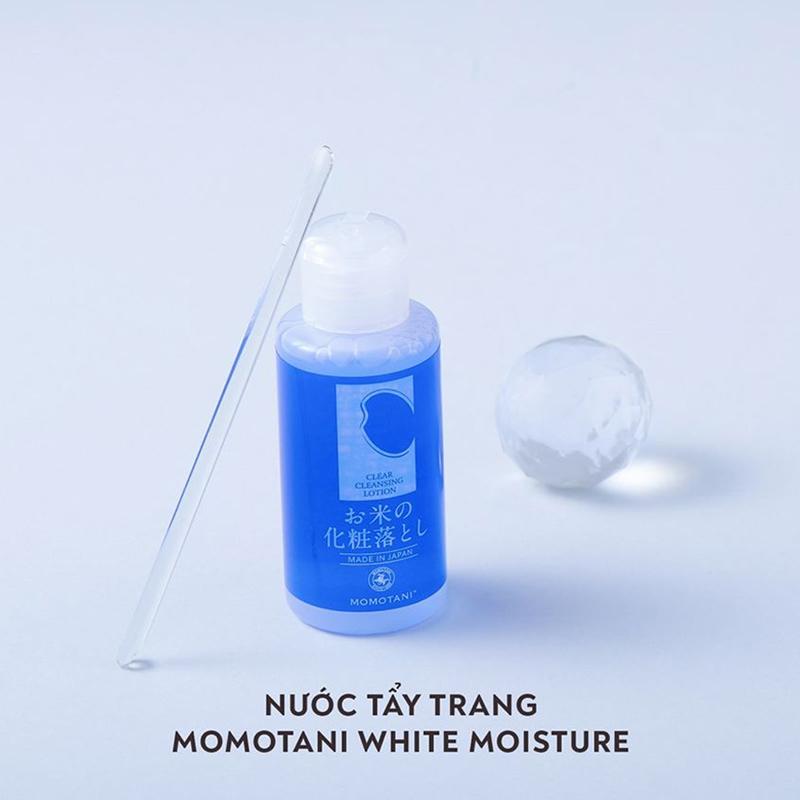 Nước Tẩy Trang MOMOTANI Clear Cleansing Lotion 58ml