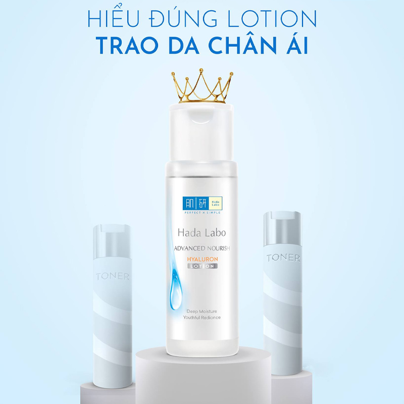 Dung Dịch Hada Labo Advanced Nourish Hyaluron Lotion 20ml
