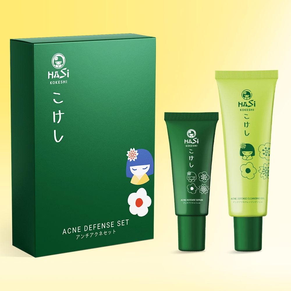 Bộ Sản Phẩm Hasi Kokeshi Puredoll Anti - Acne Set