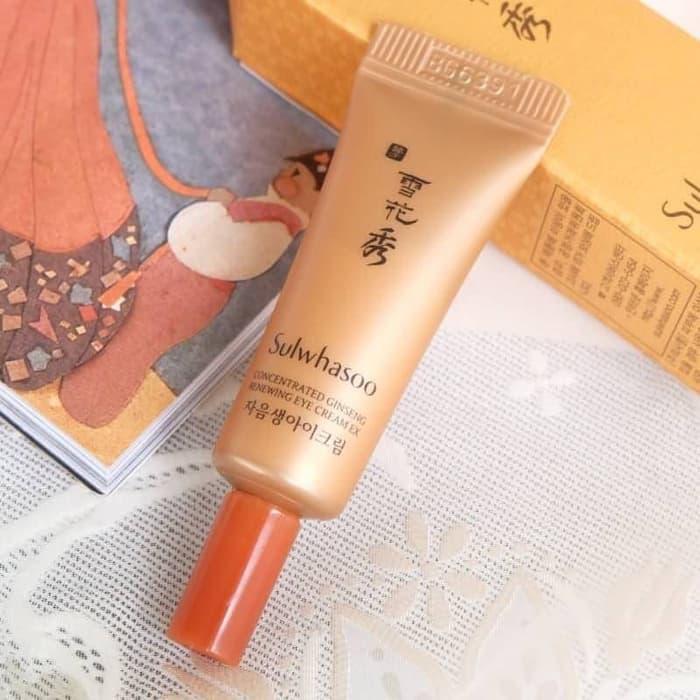 Kem mắt ngừa lão hóa từ nhân sâm Sulwhasoo Concentrated Ginseng Renewing Eye Cream EX