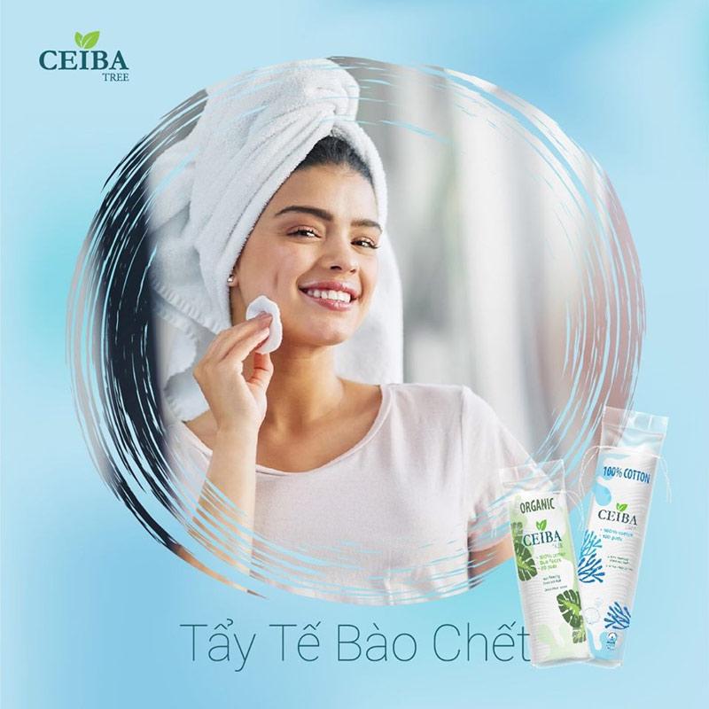Ceiba 100% Cotton Tree 120 Miếng