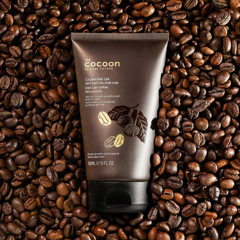 Cà Phê Đắk Lắk Cocoon Dak Lak Coffee Face Polish 150ml