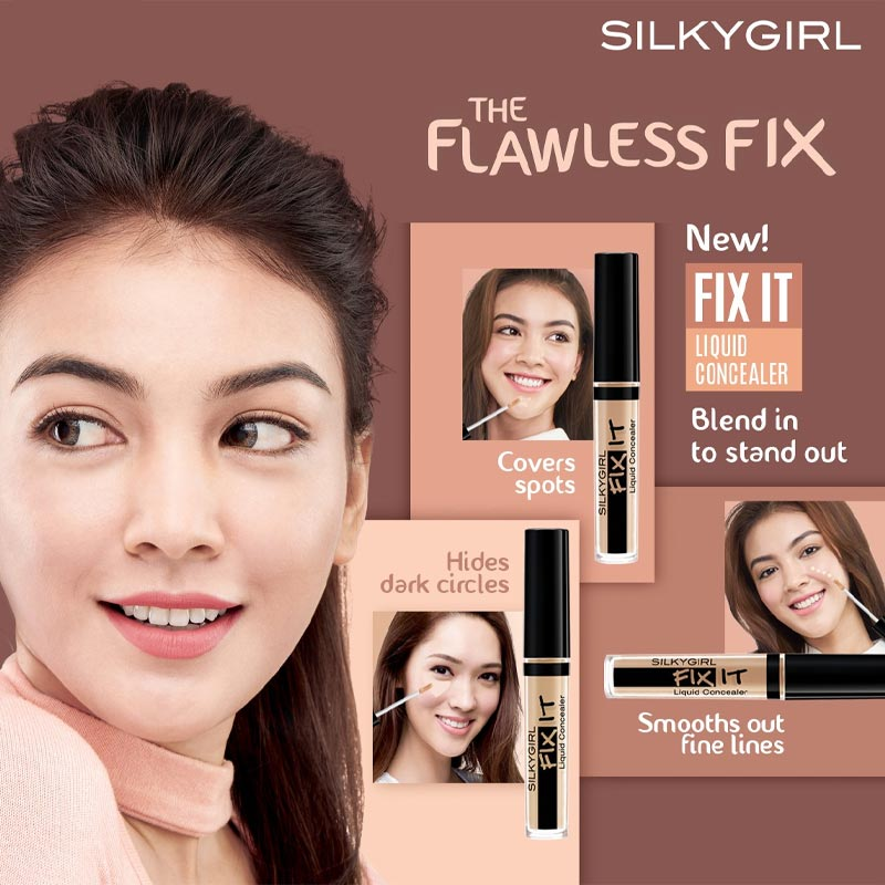 Silkygirl Fix It Liquid Concealer 2ml