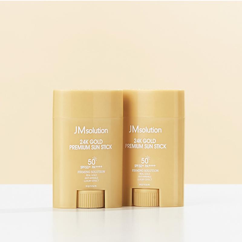 Chống Nắng JMSolution Kiềm Dầu Dạng Thỏi 24k Gold Premium Sun Stick SPF50+PA++++
