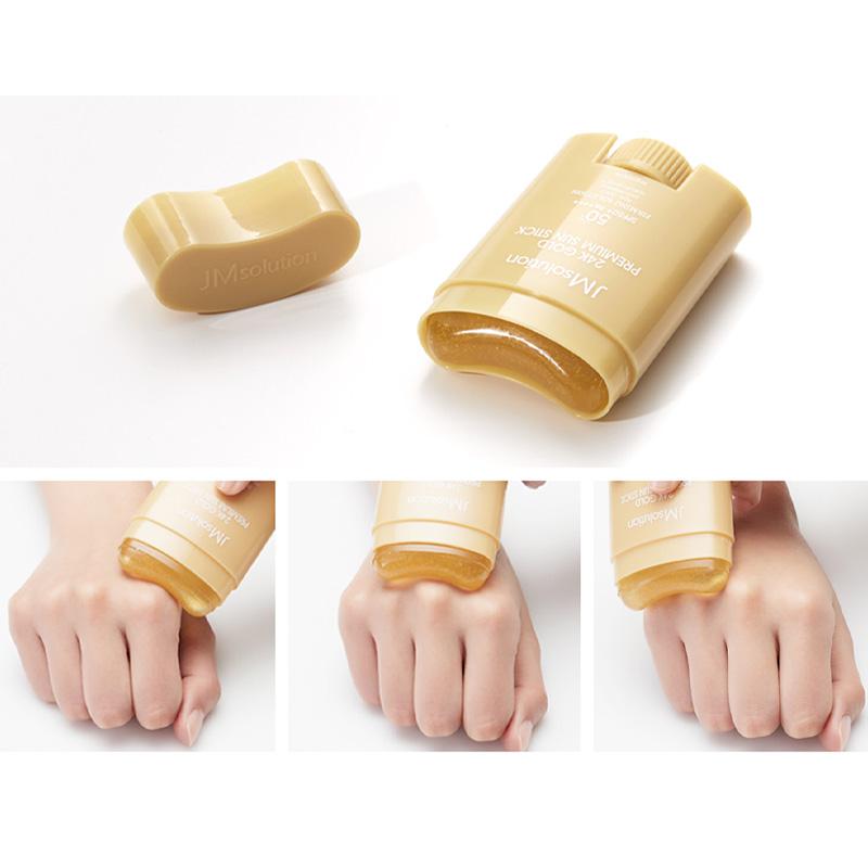Chống Nắng JMSolution Kiềm Dầu Dạng Thỏi 21g 24k Gold Premium Sun Stick SPF50+PA++++